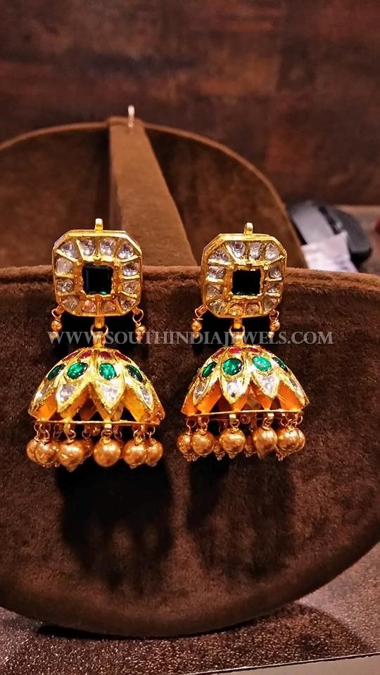 399 best Jhumkas Collections images on Pinterest