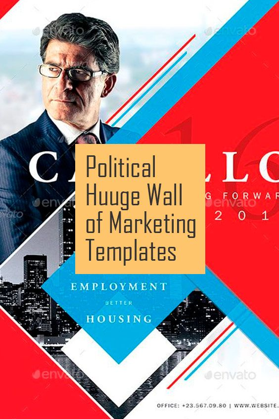 Best Political Huuge Wall Of Marketing Templates Images On