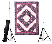 Quilt Display Stand W Carrying Case Longarm Quilting