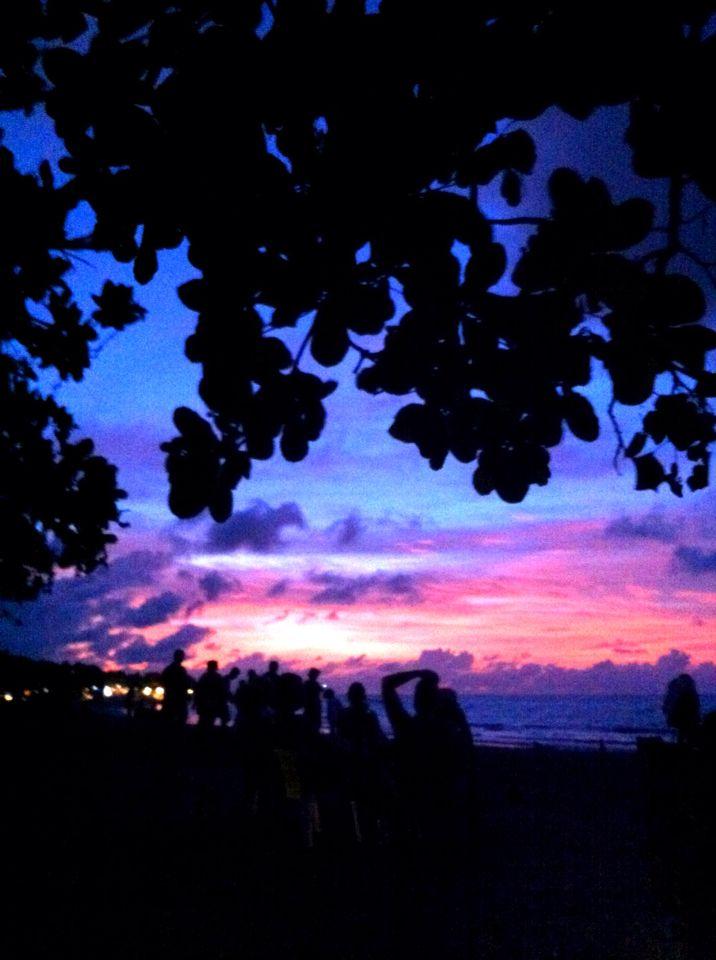 #Beautiful #Sunset @Kuta #beach #Bali #framming 29/12/14