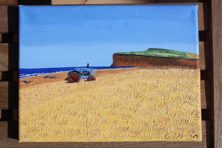 Marske-by-the-sea (oil on canvas)