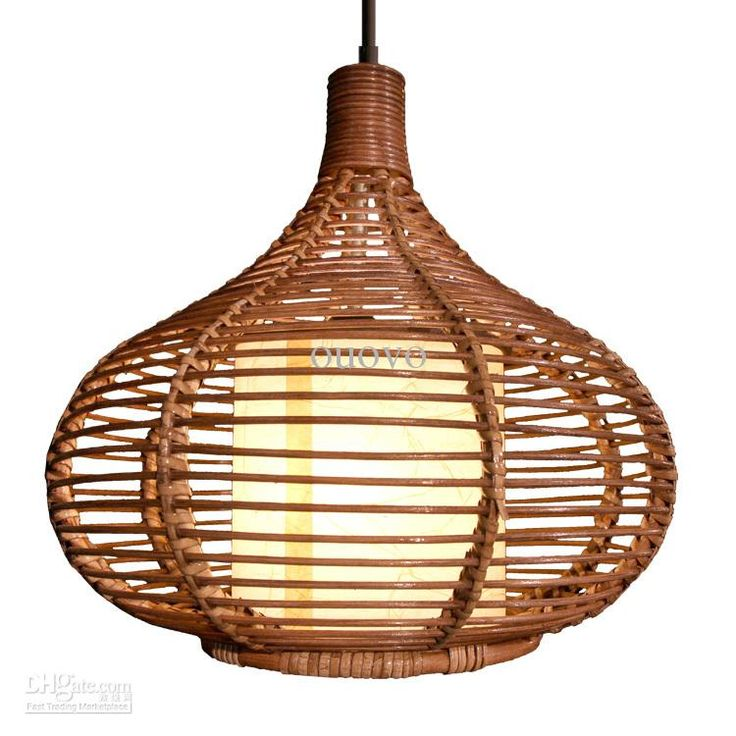 Wholesale Pendant Lamps - Buy 14 Rattan Pendant Light New Modern Study/Dining Room Pendant Lamp Southeast Asia Stylish Restaurant Pendant Lighting, $125.66   DHgate