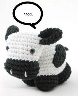 FREE Amigurumi Cow Crochet Pattern and Tutorial thanks so for detailed tute xox @Francine Lai Clouden / Callaloo Soup