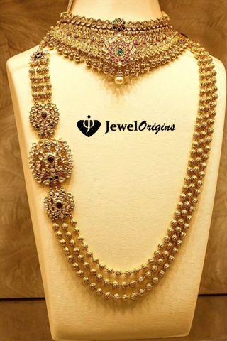 jewelorigins.com-Indian Designer Gold and Diamond Jewellery,Indian Bridal Jewellery: Kundan Jewellery