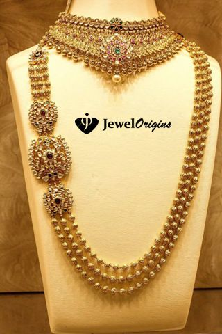 jewelorigins.com-Indian Designer Gold and Diamond Jewellery,Indian Bridal Jewellery: Kundan Jewellery