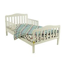 Dream On Me Contemporary Toddler Bed - White
