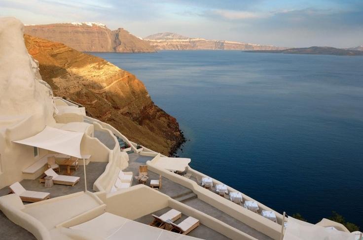 Mystique featured in Travel Plus Style magazine @ The Essence of Mystique, Santorini