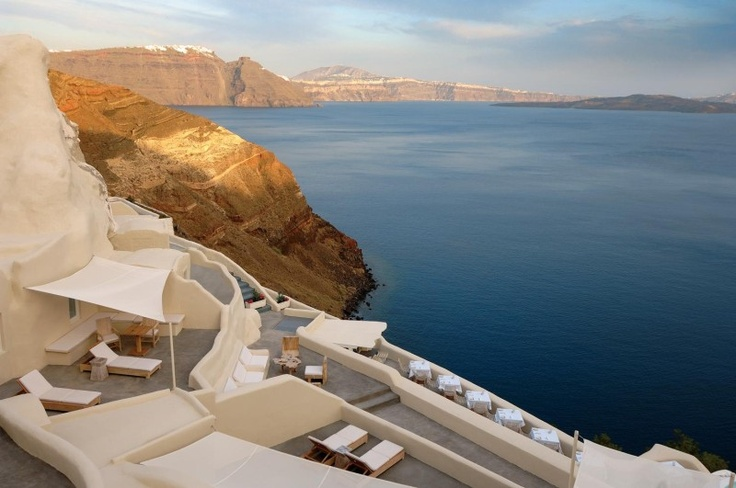 Mystique featured in Travel Plus Style magazine @ The Essence of Mystique, Santorini