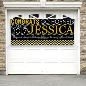 Make the graduation memories live forever with the School Memories Personalized Graduation Banner. Find the best personalized graduation gifts at PersonalizationMall.com