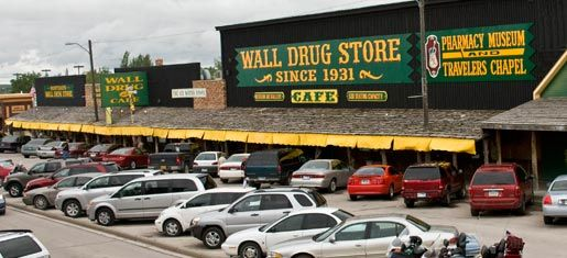 Wall Drug Store in Rapid City, South Dakota was a cool place to visit