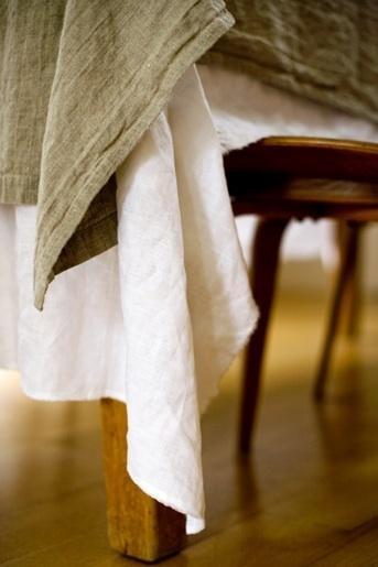 linen on linen