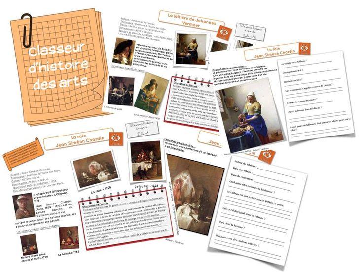 Classeur d'histoire des arts - ac-poitiers.fr/ia17