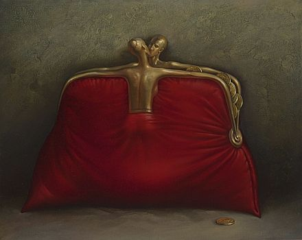 Vladimir Kush -  Red Purse