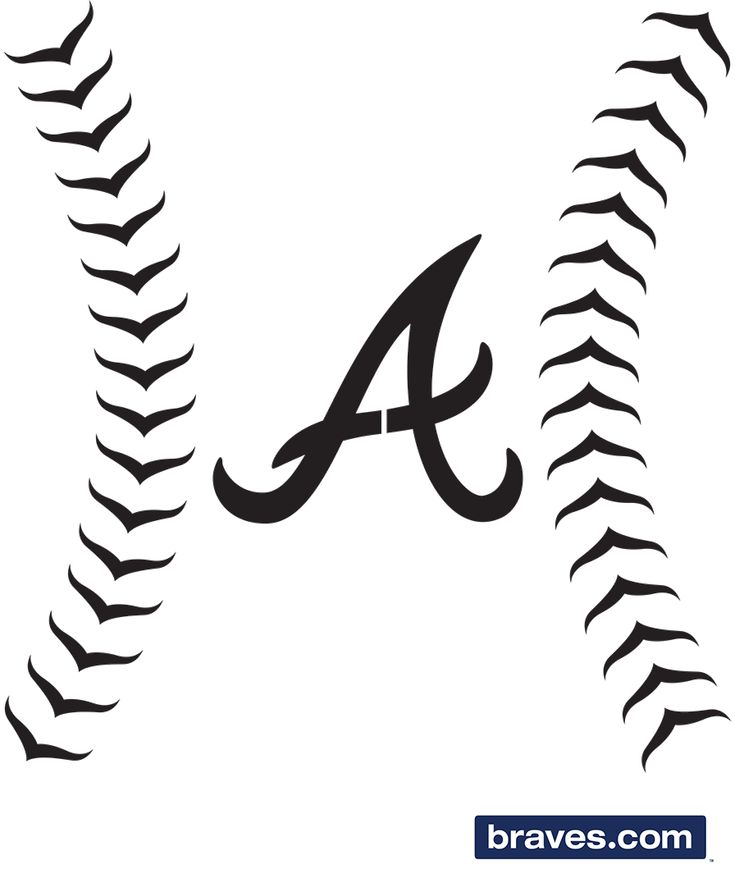 Pumpkin Stencils | Atlanta Braves