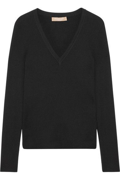 Michael Kors Collection - Cashmere Sweater - Black - x small