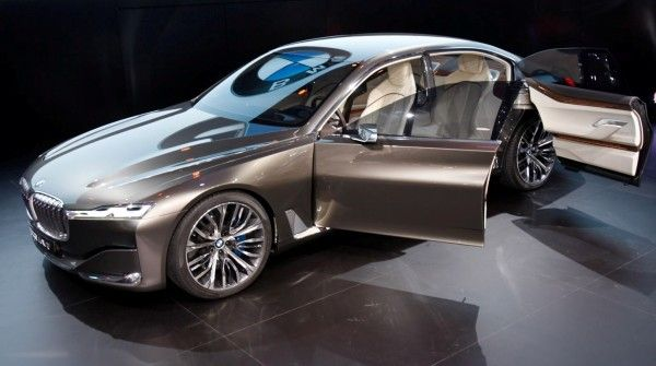 2014 BMW Vision Side Images 600x335 2014 BMW Vision Future Luxury Review With Images