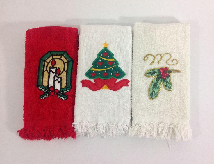 Die besten 25+ Christmas hand towels Ideen auf Pinterest