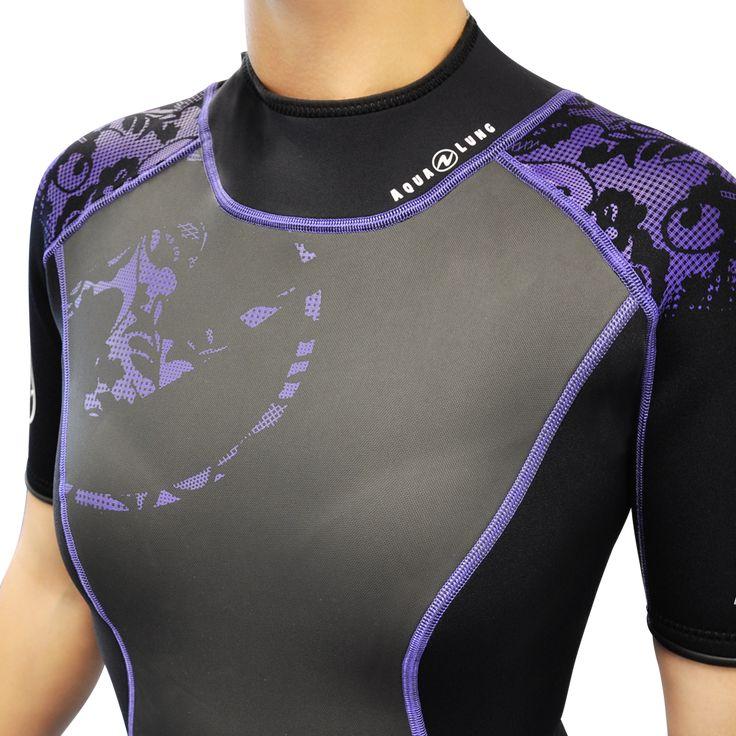 HydroFlex 2mm Shorty. In purple !!
