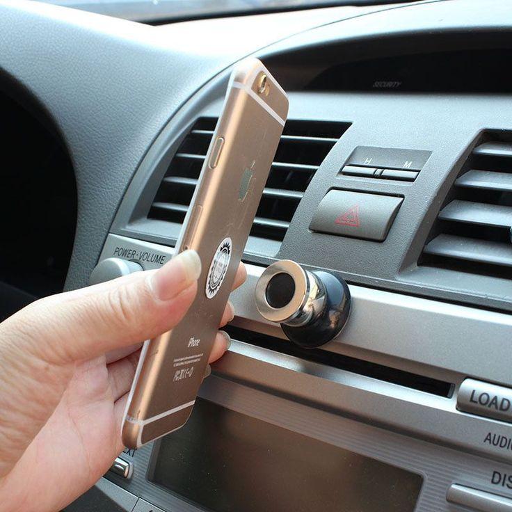 360 Degree Universal Car Phone Holder Magnetic Air Vent Mount