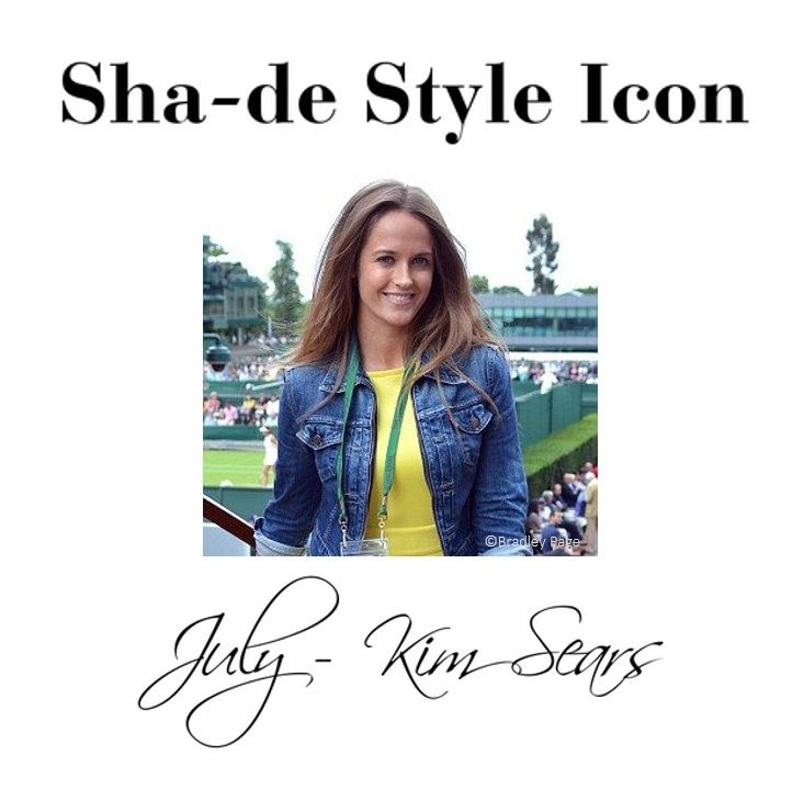 Sha-de Sun Protection Style Icon for July is Kim Sears. Find out how Kim looks after her skin in the sun here http://goo.gl/nEd30q