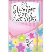 Everybody loves a slumber party and this set of 52 cards will just make the evening even more fun. There are crafts, recipes, and party ideas that the whole family can get involved with.