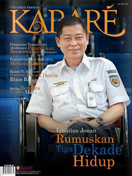 Kabare Magazine edisi September 2014
