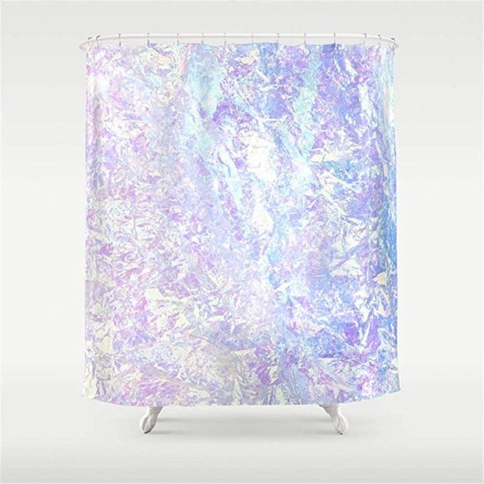 Bhuis Iridescent Crystal Shower Curtain 72 72 Inch With Images