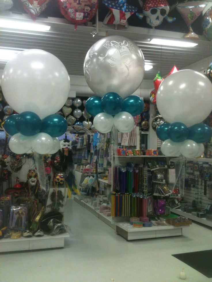 Baby Shower Decorations Milton Keynes ~ Best clusters images on pinterest balloon ideas
