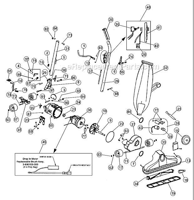 Royal UR38200 Parts List and Diagram : eReplacementParts