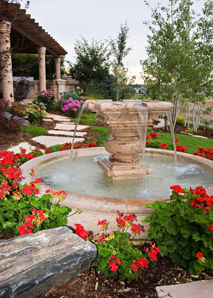 Boost your backyard bird watching with a small fountain or birdbath. A softly trickling water fountain will give you the opportunity to sit quietly and contemplate the sounds of nature - birds chirping, the fresh breeze blowing and the fresh smells of your garden