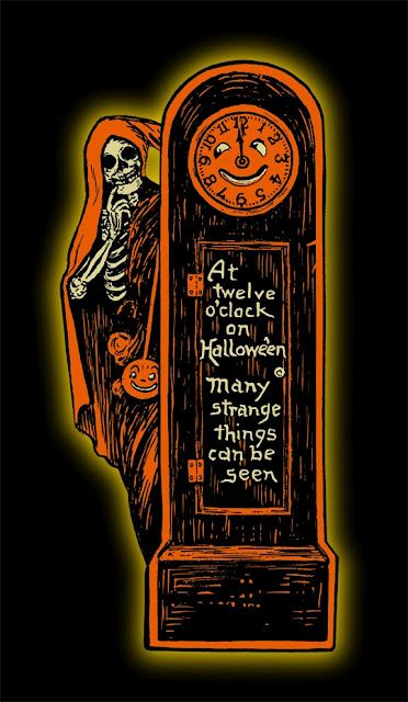 Vintage Halloween invite from Beistle.