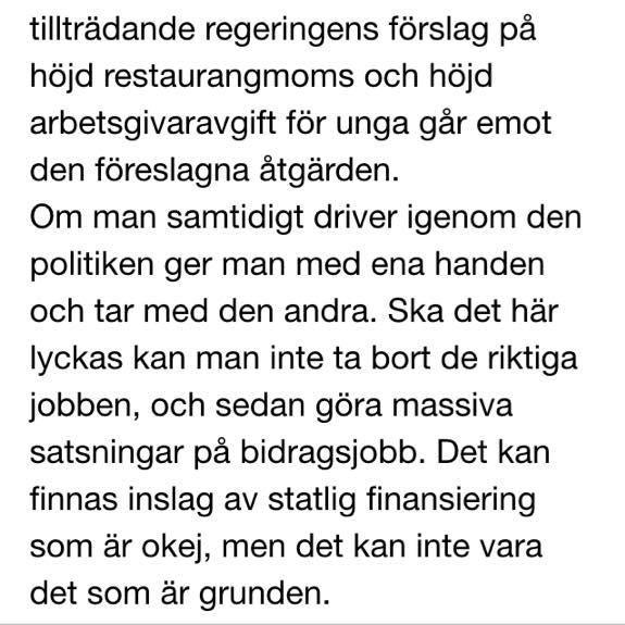 Christer Ågren, v vd på Svenskt Näringsliv, är delvis positiv till förslaget från LO. Sänkta trösklar viktigt. Dock: pic.twitter.com/dhefapLtD3