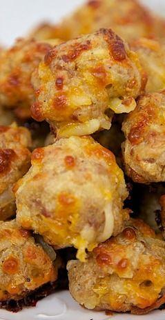 Sausage & Hash Brown Balls
