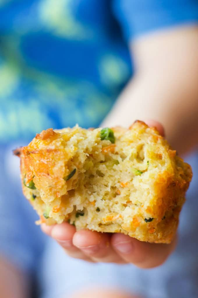 These vegetable muffins contain 4 different vegetables. They are perfect savoury muffins for baby-led weaning, toddler lunches or for the lunchbox. Something the whole family will love.