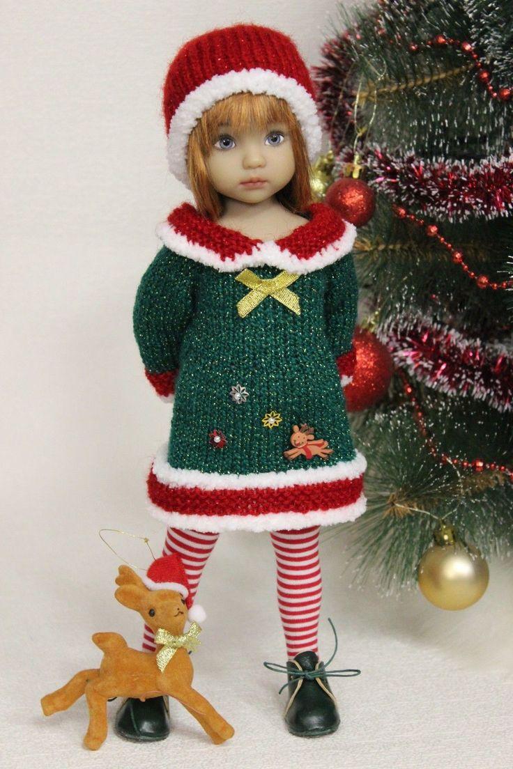 """Наряд новогодний и обувь, для работы 13 """"Дианна Effner Little darling"""