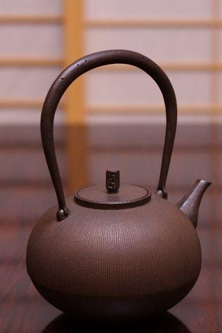 shape is divine simplicity!  Suzuki Morihisa: Nanbu Tetsubin : HOJO TEA