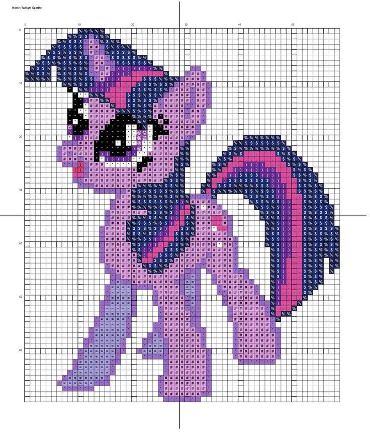 MLP Twilight Sparkle pattern by Stinnen on deviantART
