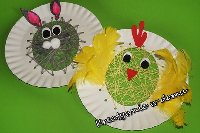 Wielkanocne zabawy z włóczką   Kreatywnie w domu