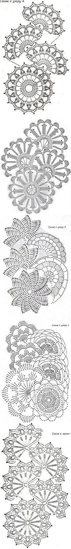Схемы для ленточного кружева: Дневник пользователя ника 2013 - Страна Мам