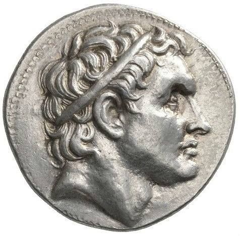 Obverse depicting Seleucus I Nicator