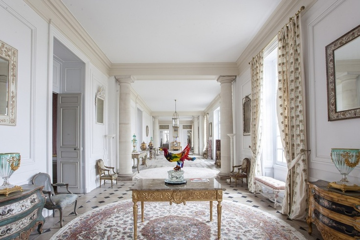 The chateau's current owner, Edmond Baysari, restored the chateau to its original grandeur, returning the wings' large galleries to their original purposes of displaying artwork. He furnished the estate in original 18th century French antiques and employed artisans to authentically restore rooms and their finishes in the style utilized during Pompadour's time. Rather than adorn the walls with historical works from the time period, however, he has commissioned up-and-coming artists to paint…