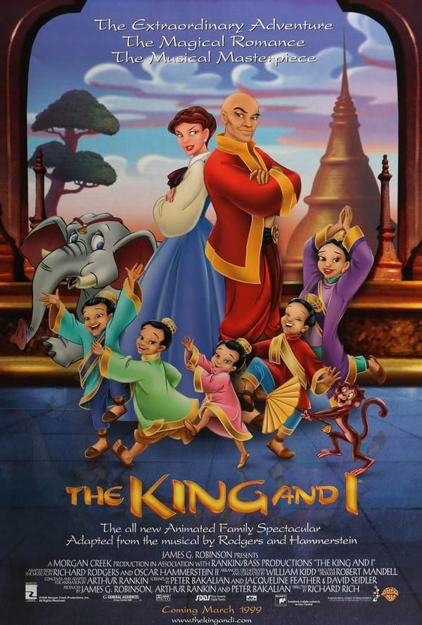 King And I 1999 In 2020 Animated Movie Posters Disney Animated Movies Animated Movies