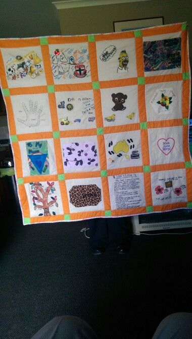 The Dodge family quilt, by Debra Hawkins