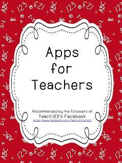 Teach123 - tips for teaching elementary school: Apps for Kids