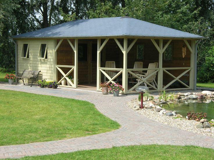 69 best images about tuinhuizen met veranda on pinterest models restaurant and mississippi - Deco tuinhuis ...