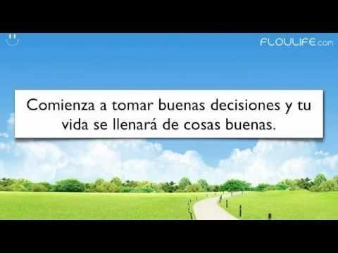 Las decisiones que tomas hoy le dan forma a tu futuro. En este video te enseño cómo tomar buenas decisiones http://floulife.com/como-tomar-buenas-decisiones-video/