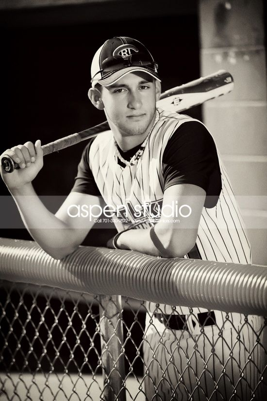 Senior Portrait Ideas for Baseball and Football Players «