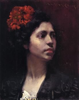 Spanish Girl - William Merritt Chase - The Athenaeum