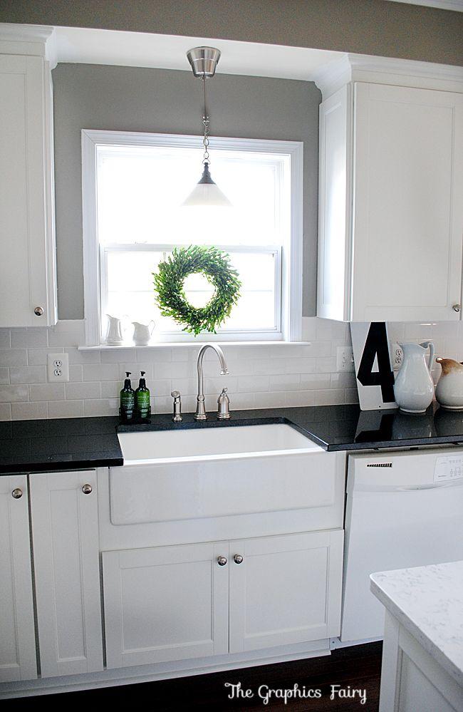Great kitchen. Always love a sink at the window.