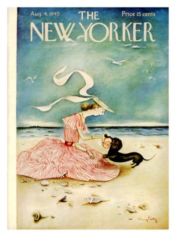The New Yorker Cover - August 4, 1945 Giclee Print by Mary Petty at eu.art.com
